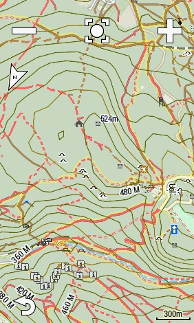 Höhenlinien mit der OpenMTBMap