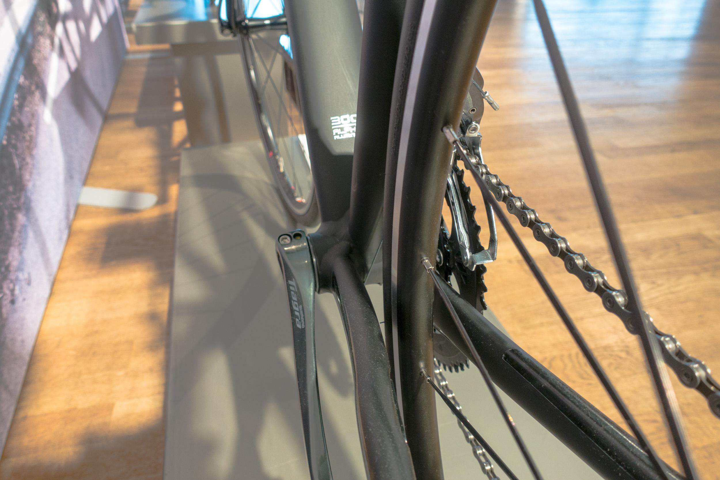 #3 Treks spezielle Schweißtechnik sorgt für eine bessere Verbindung der Rohrübergänge und für eine hohe Steifigkeit.