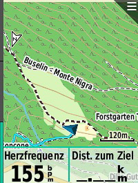 Trail am Monte Nigra