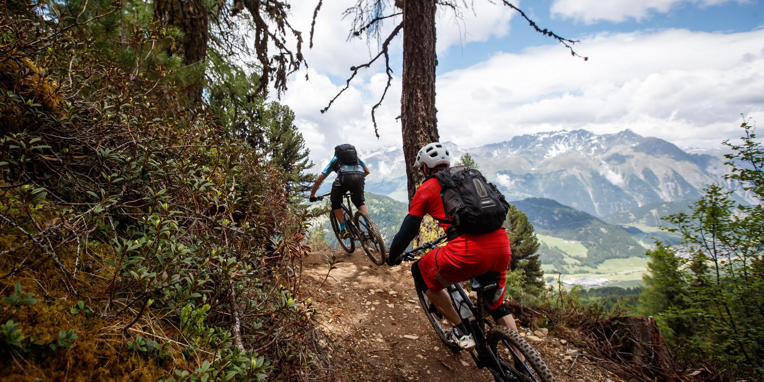 3-Länder Enduro Trails am Reschenpass