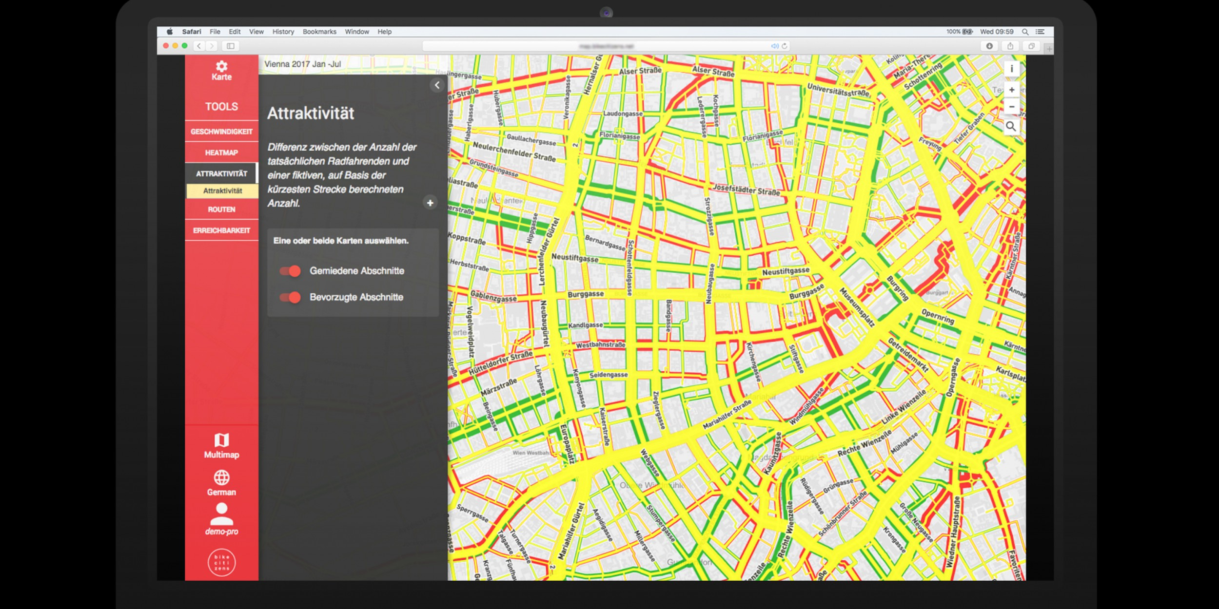 Bike Citizens Analytics