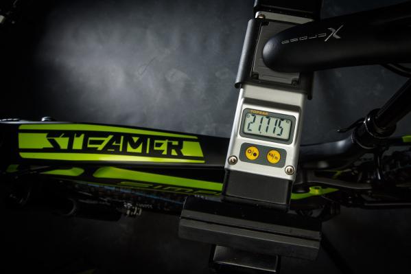 21,7kg Bike komplett