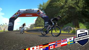 Zwift National Championships 2018