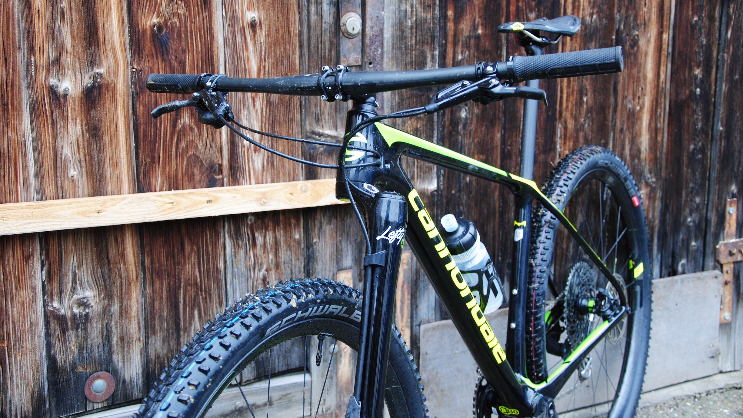 760 mm Lenker an einem XC-Bike? Ja.