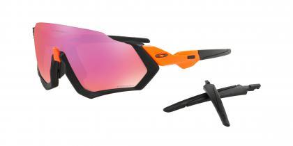 Neon Orange Matte Black with Prizm Trail