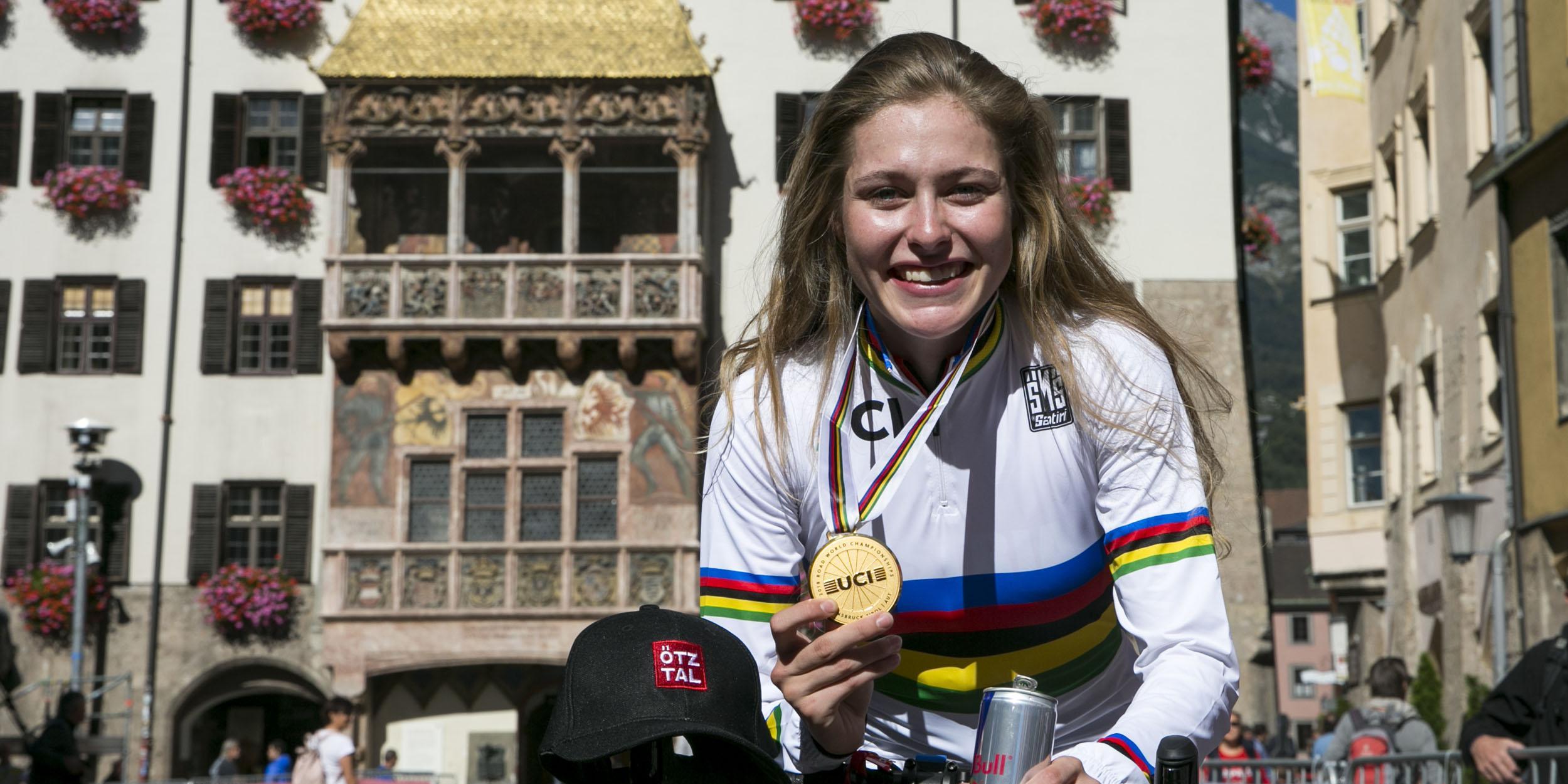 Radsportlerin des Jahres: Stigger