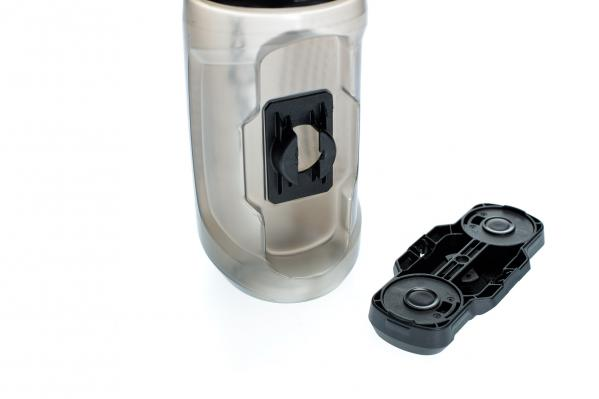 Die Flasche selbst ist spülmaschinengeeignet und auch einzeln erhältlich.