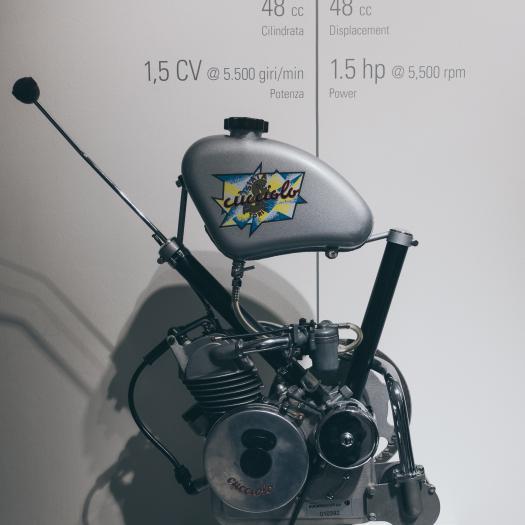 Einzylinder, 4-T, 2 Ventile, 48 cm³, 1.5 PS