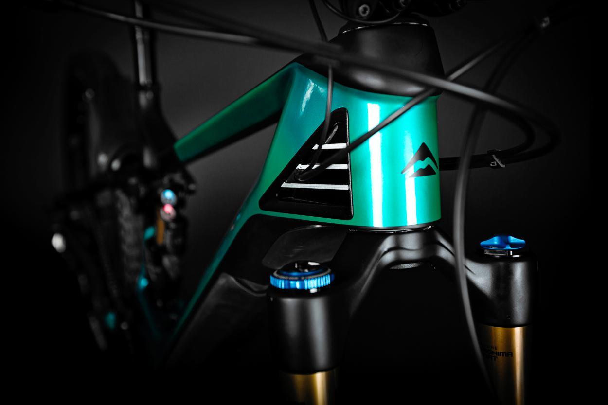 Fox Gabel: FOX 36 Factory E-Bike, Air, Kashima, 160 mm, Tapered, 51 mm Offset