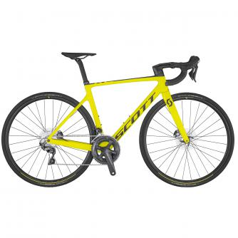 Addict RC 30 Yellow Addict RC Disc HMX Rahmen/Gabel, Syncros Belcarra Regular Sattel, Shimano Ultegra 8000, Syncros RP 2.0 Disc 7.94 kg (? 3.499,00)