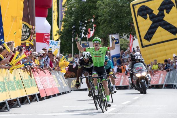 Kommen gerne wieder: Tom-Jelte Slagter siegte in Pöggstall 2017 und