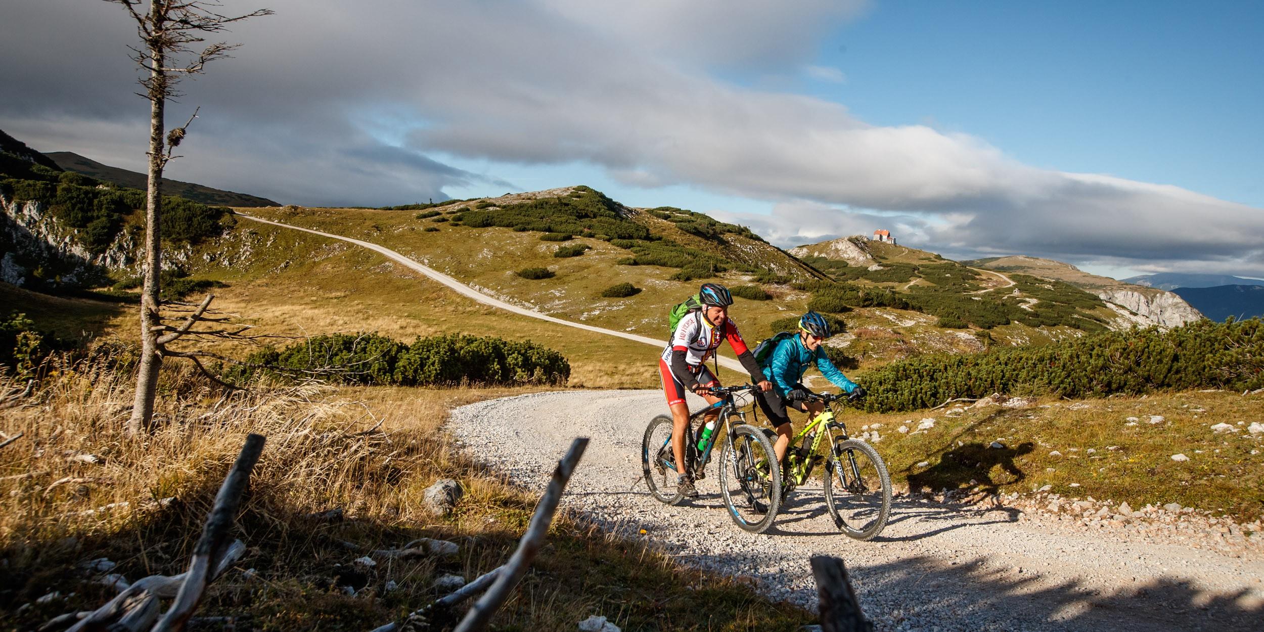 In der Mountainbike Region Mürztal