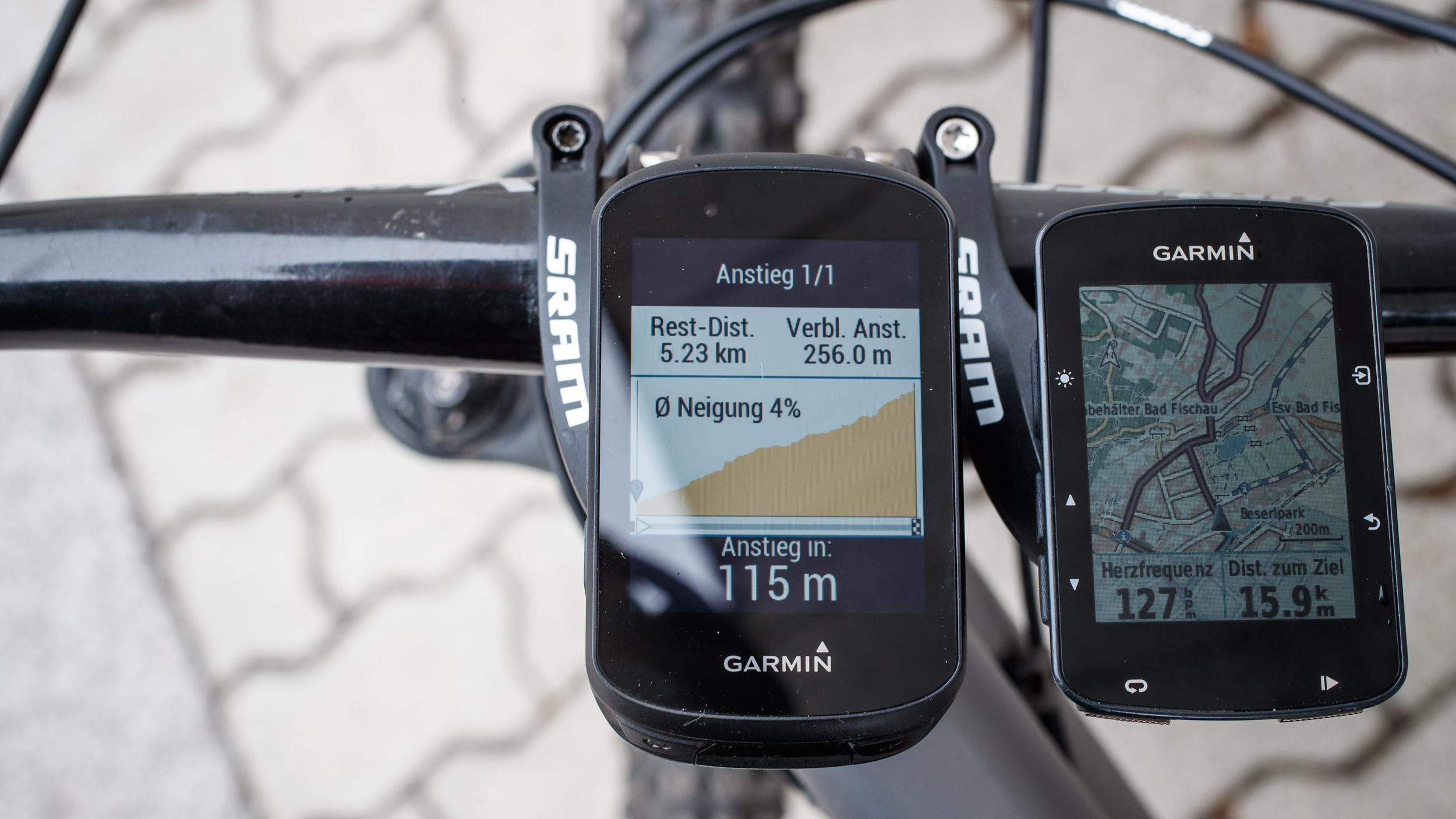 auf den nächsten 5,2 km geht's 256 Meter bergauf (4% Durchschnittssteigung)