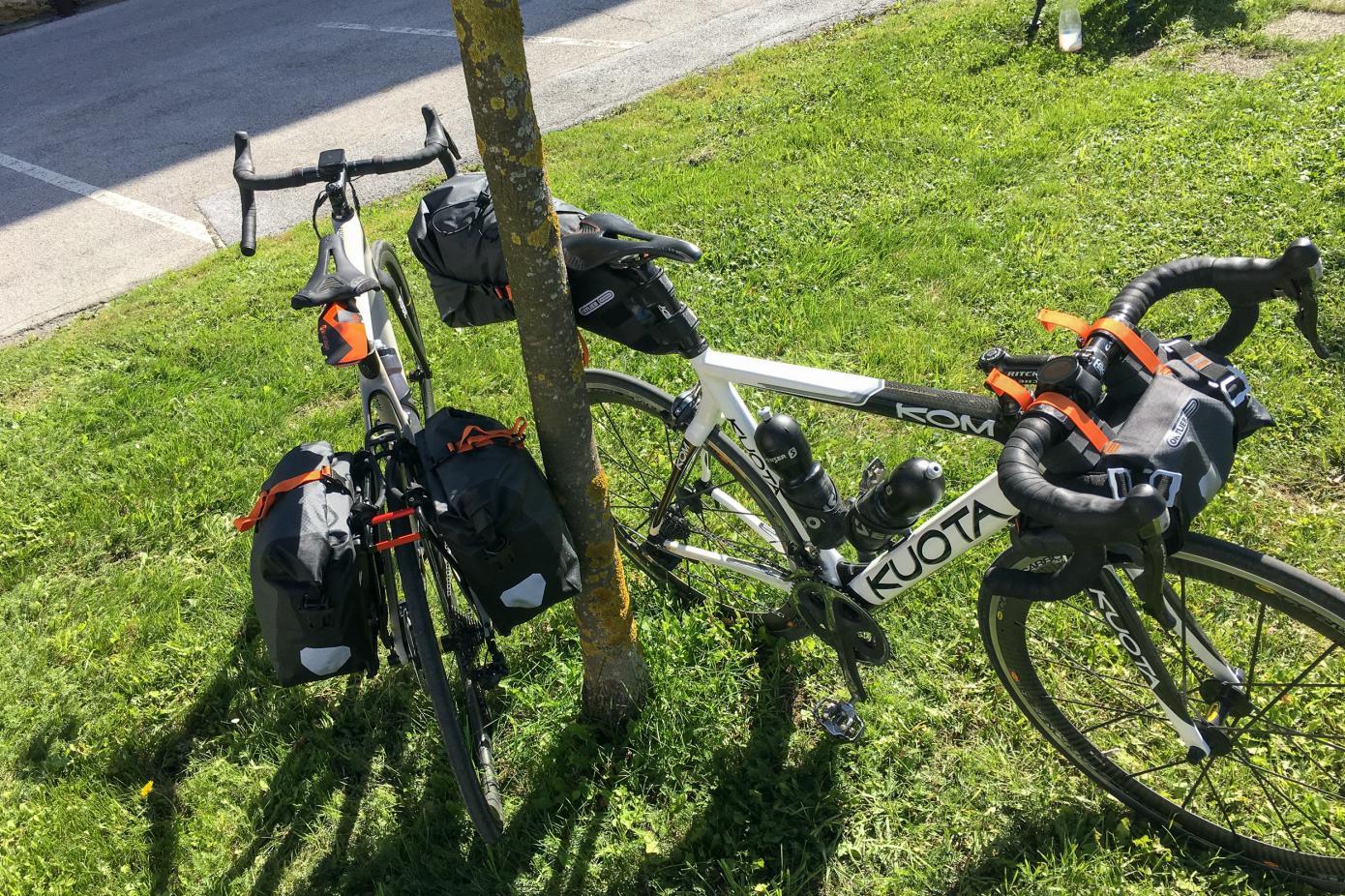 ... Ortlieb Bikepacking Serie.