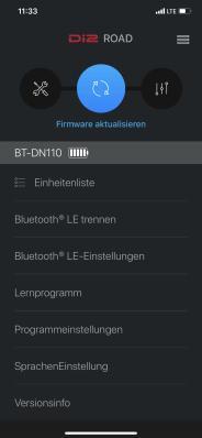 Zuerst empfiehlt sich eine Aktualisierung der Firmware aller betroffenen Di2-Komponenten.