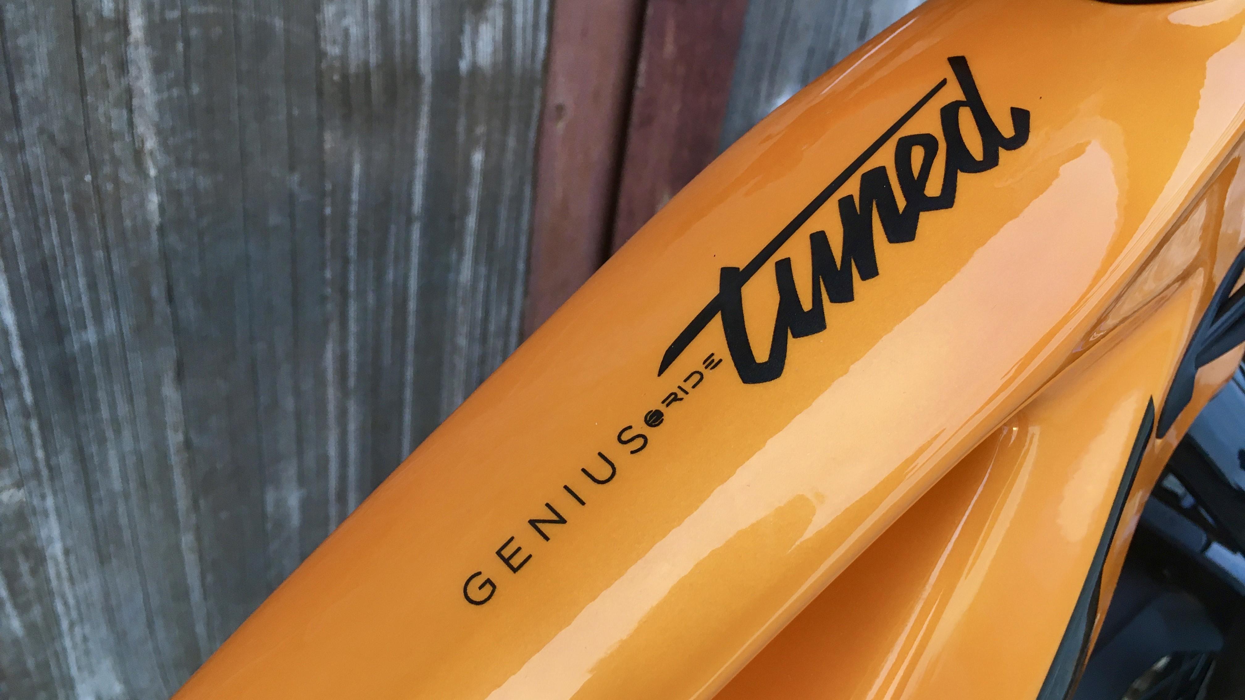 Das Genius eRide 900 Tuned stellt das erste Carbon E-Bike von Scott dar.