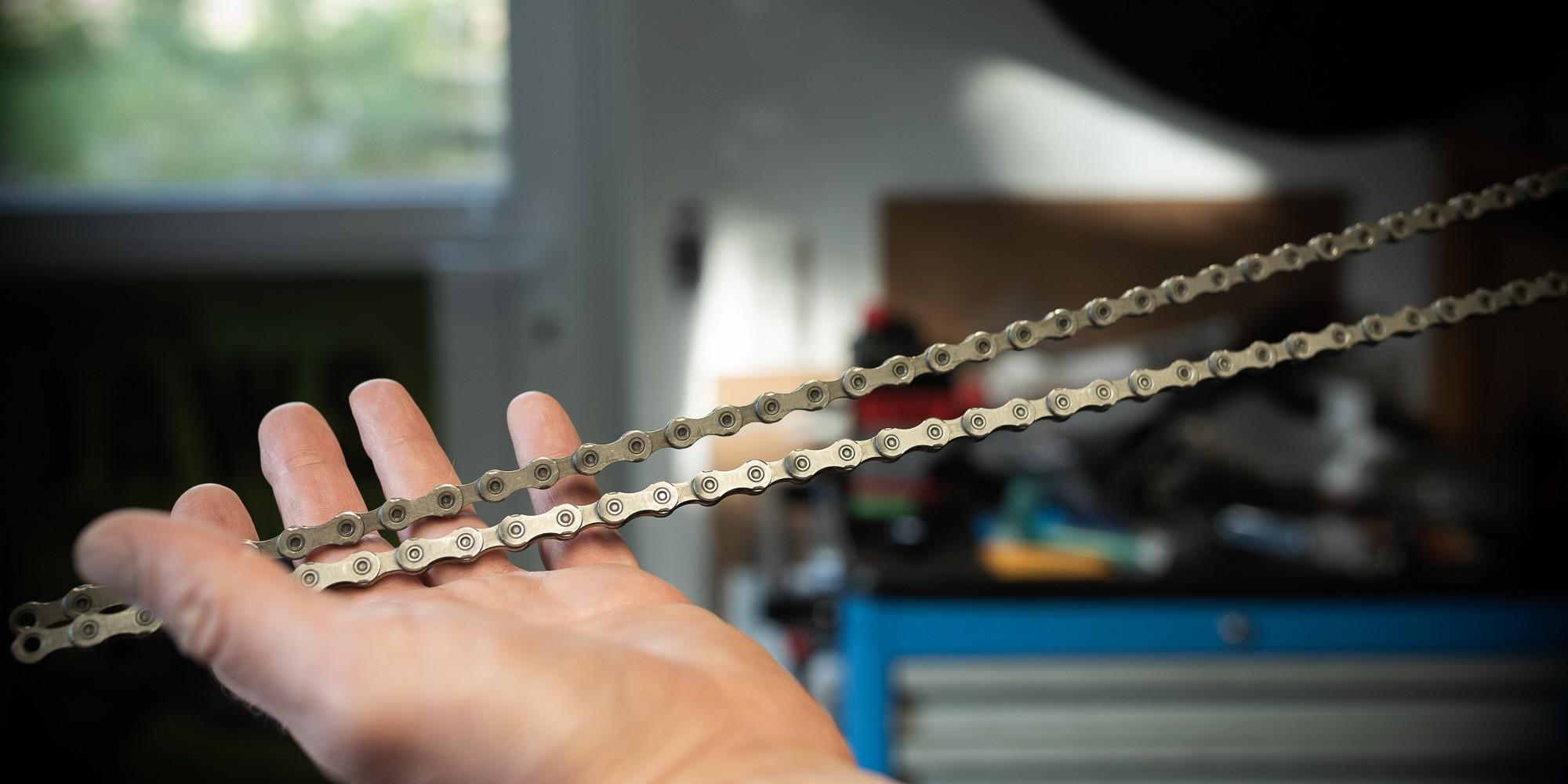 Workshop: Molten Speed Wax Kettenschmierung