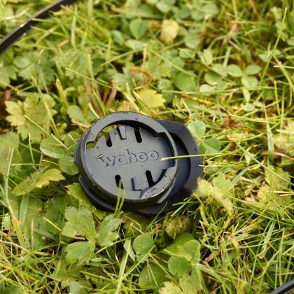 Der Kabelbinder-Salat für die kleine Lenker- und Vorbauhalterung.