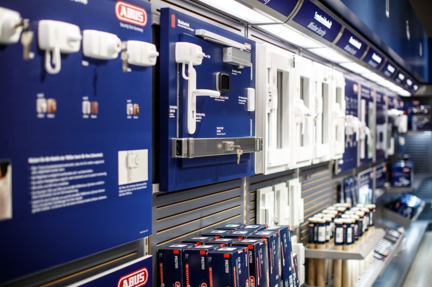 Das breite Spektrum an Produkten von Haus-Sicherheit ...