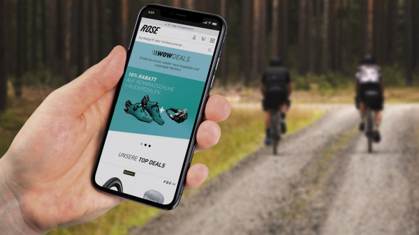 Rose Bikes launcht Shopping-Portal Wow.Deals