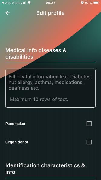 Medizinische Daten finden genauso ihren Platz am Chip...