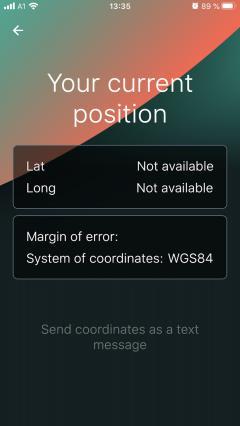 Die twICEme App kann nicht nur Chips bespielen und auslesen, sondern auch den GPS-Standort ausgeben und direkt weiterleiten.