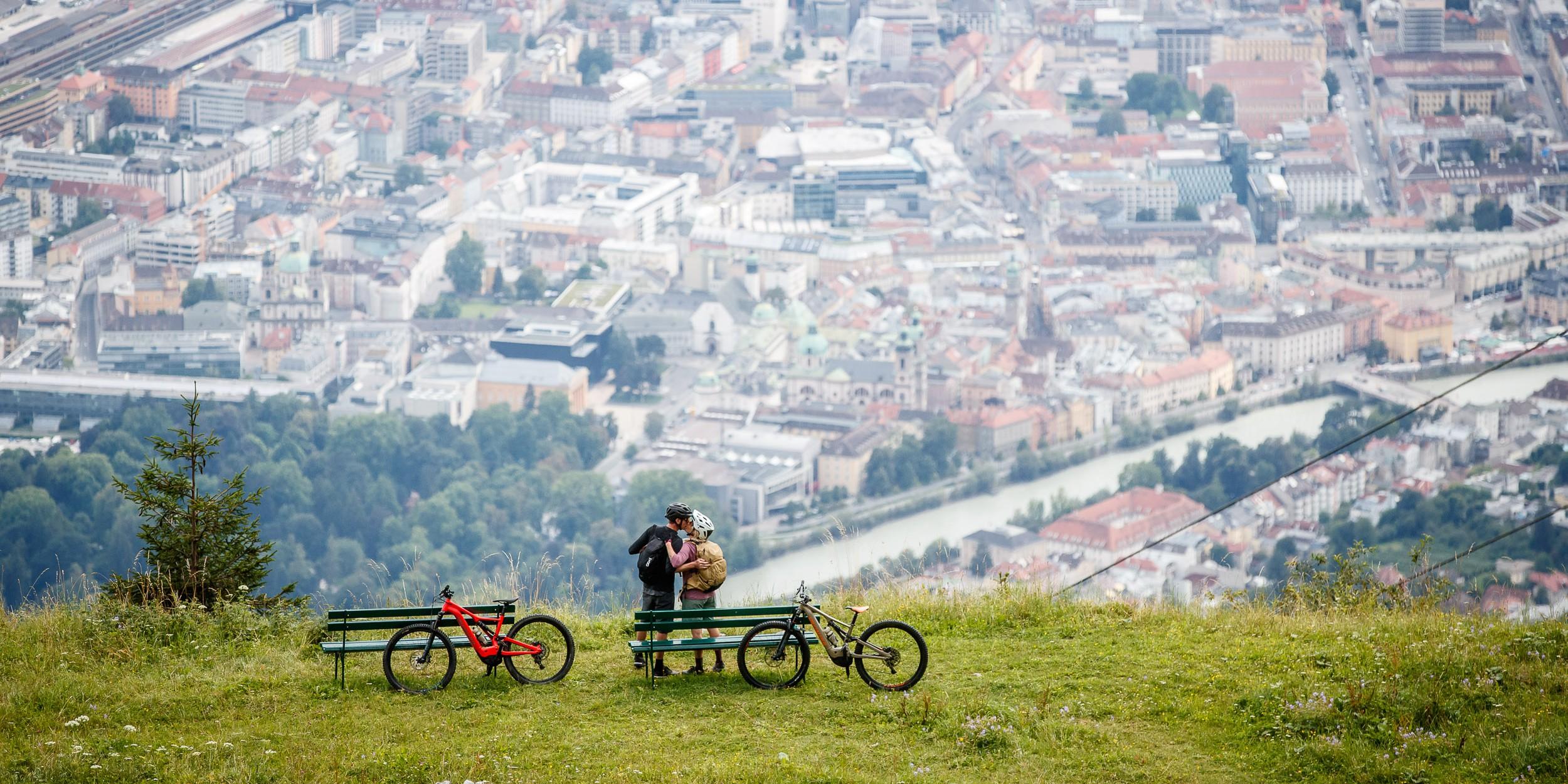 Innsbruck Impressionen - Bikepark, Nordkette und Mittelgebirge
