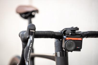Für die Actioncam eignen sich auch filigranere Mounts, solange sie nicht vibrieren.