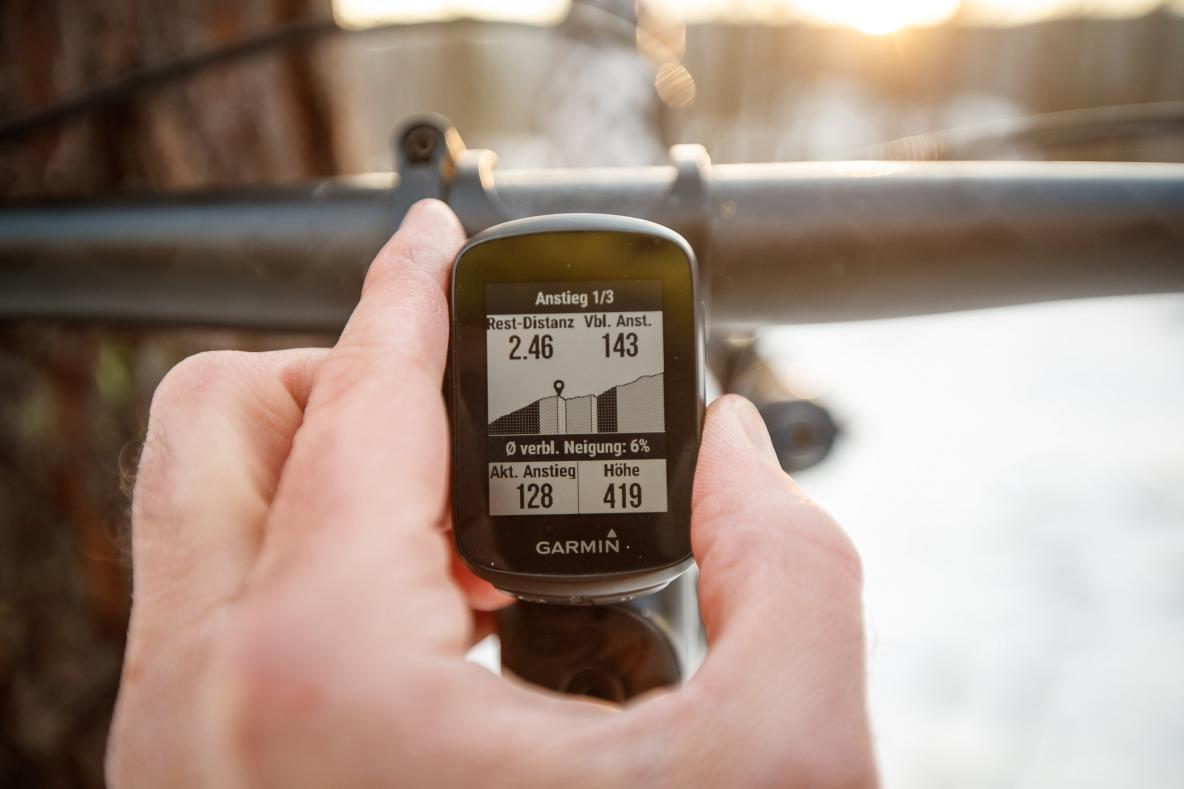 Climb-Pro ist ist dennoch eine der nützlichsten Funktionen auf Tour