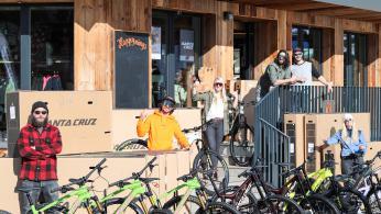 Neuer SkiLL® Bike Store in Saalbach