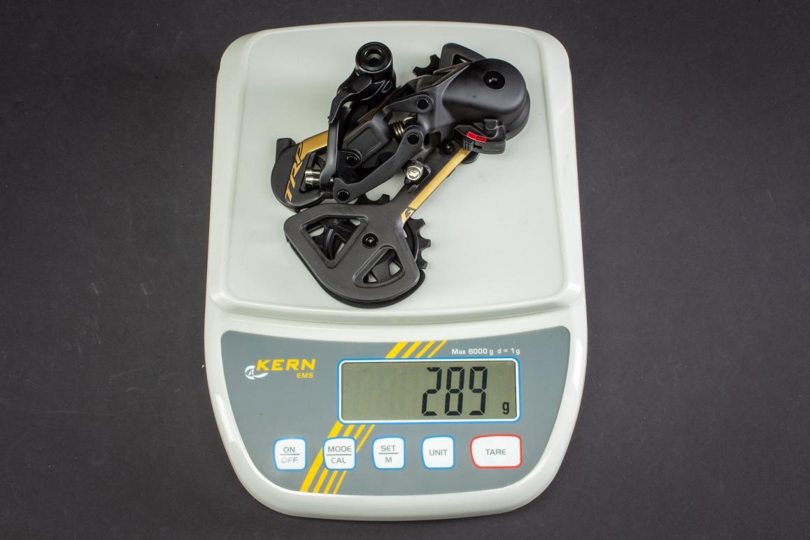Gewicht Schaltwerk