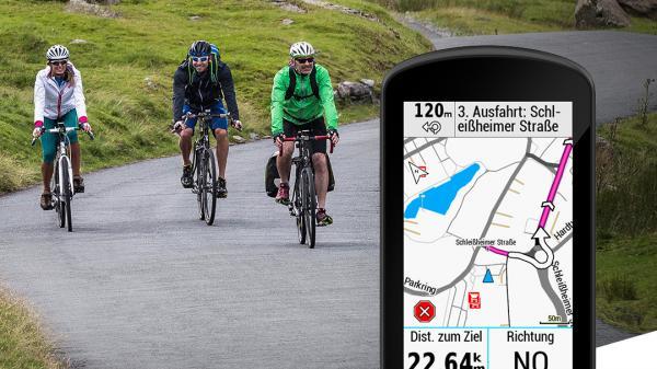Karten-Updates für Garmin Edge