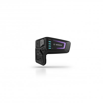 Die neue LED Remote vereint Infos zu Fahrmodi und Ladestand