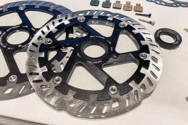 Auch neu ist die MDR-P Bremsscheibe in einer Centerlock-Variante in den Größen 180 und 203 mm.