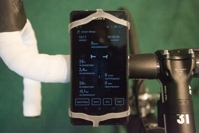 Auch Daten anderer ANT+ oder Bluetooth-Sensoren können dargestellt werden.