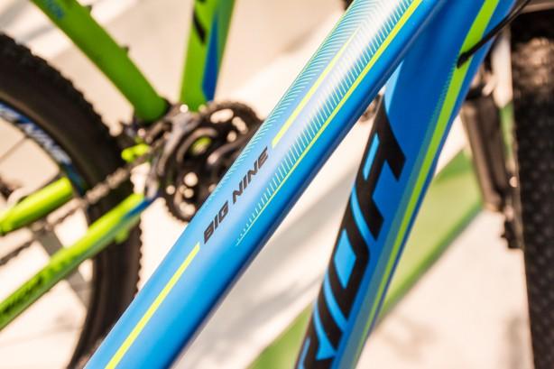 """Apropos Big.Nine: Vom 29""""-Hardtail mit Superlite-Rahmen wird's eine 250 Stück umfassende Limited XT-Edition für Österreich geben,"""