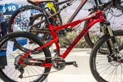"""Size Specific Wheeling: großes Rad, großes Laufrad (29"""" mit 96 mm Federweg am Heck),"""