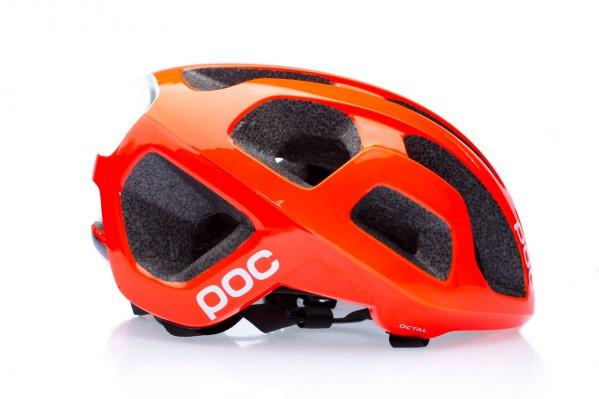POC Octal AVIP Helm in Zink Orange